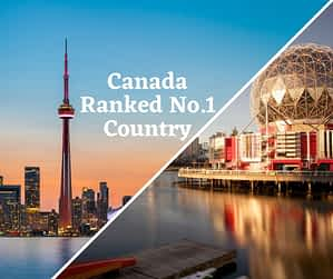 Canada Ranked No.1 Country in the World