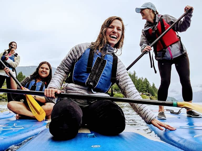 Stand Up Paddle – Adventures of An Uncoordinated Indian in Canada