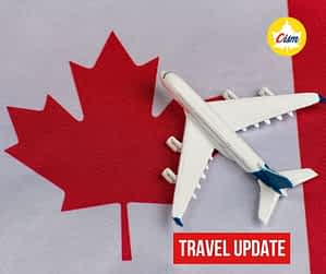 Travel Update to Canada
